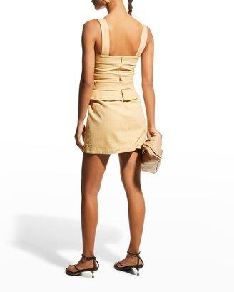 Alexis Eve Utilitarian Mini Dress