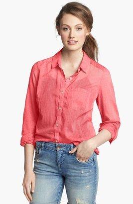 Caslon Long Sleeve Shirt (Regular & Petite)