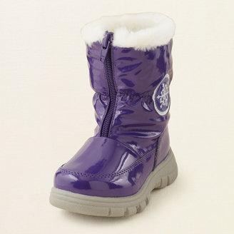 Children's Place Alaska zip-front boot