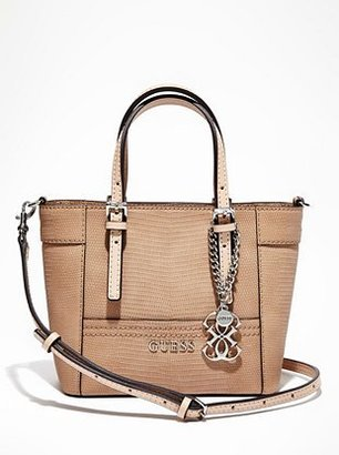 GUESS Delaney Textured Mini Tote