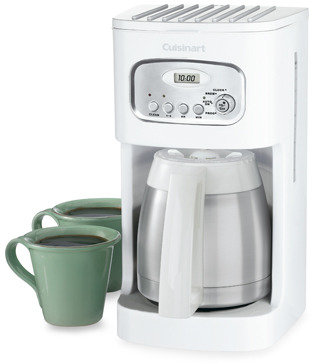Cuisinart Thermal 10-Cup Programmable Coffee Maker - White
