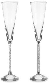 Oleg Cassini Diamond Crystal 6-Ounce Flute - Set of 2