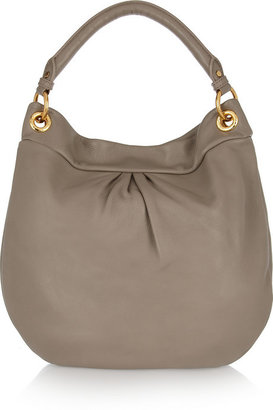 Marc by Marc Jacobs The Classic Q Hiller Hobo textured-leather shoulder bag
