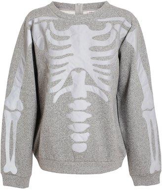 Ashish Reflective Skeleton Sweatshirt