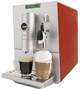 Jura-Capresso Cherry Red Automatic Coffee and Espresso Center