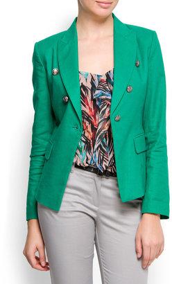 MANGO MIlitary style blazer