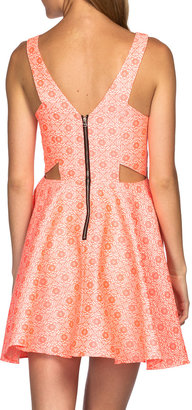 Dolce Vita Stacie Dress Neon Coral