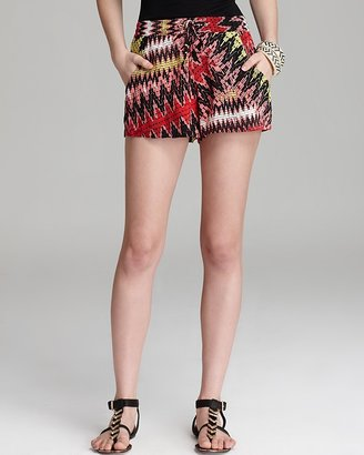 French Connection Shorts - Zigzag Floral