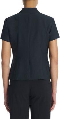 Jones New York Washable Wool Short Sleeve Jacket