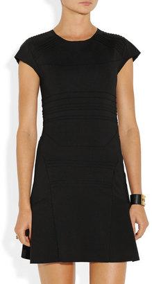Maje Darling paneled stretch-jersey dress