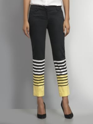 New York & Co. The 7th Avenue Slim Ankle Pant - Delightful Daisy Stripe