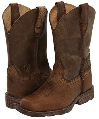 Ariat Rambler (Toddler/Little Kid/Big Kid) (Earth/Brown Bomber) Cowboy Boots