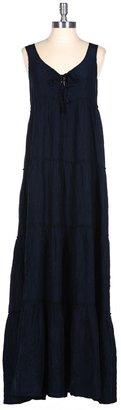 Calypso St. Barth Nettie Lace Up Dress
