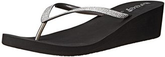 Reef Women's Krystal Star Wedge Sandal $7.35 thestylecure.com
