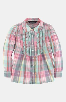 Ralph Lauren Plaid Tunic (Toddler)