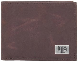 Texas A&M Aggies Leather Bifold Wallet