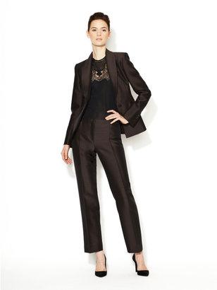 Carolina Herrera Wool and Silk Skinny Pant
