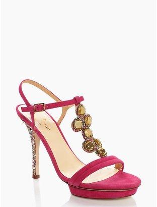 Kate Spade Velvet heel