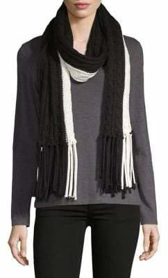 Calvin Klein Colourblock Cable Scarf