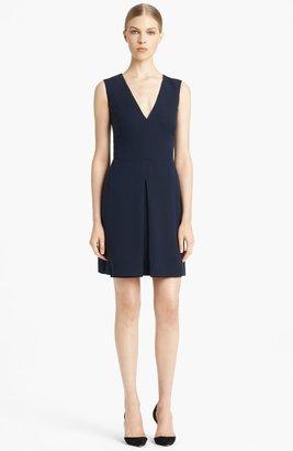 Valentino Inverted Pleat Dress