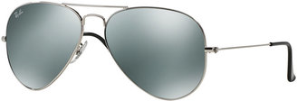 Ray-Ban AVIATOR MIRRORED Sunglasses, RB3025 58 $175 thestylecure.com