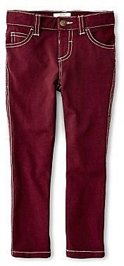 Joe Fresh Solid French Terry Jeggings - Girls 1t-5t