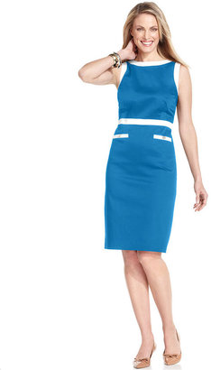 Charter Club Dress, Sleeveless Sheath