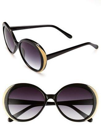 Outlook Eyewear 'Meatpacking' 55mm Sunglasses
