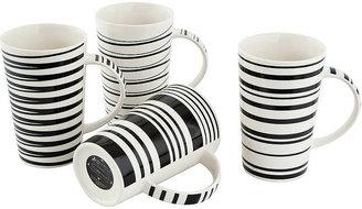 Maxwell & Williams Cafe Noir Mugs - Set of 4