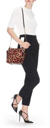 Jimmy Choo Anabel Leopard Print Pony Shoulder Bag
