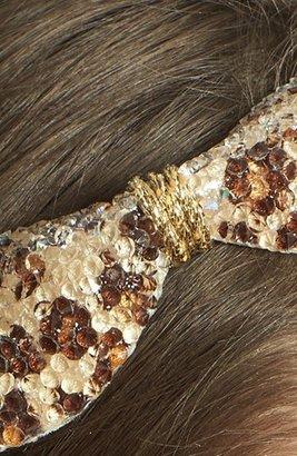 Cara Crystal Bow Headband