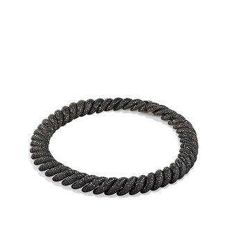 David Yurman Hampton Pavé; Necklace with Black Diamonds