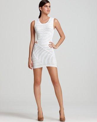 Kimberly Ovitz West Sleeveless Cut Out Dress