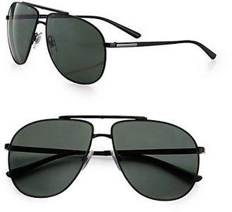 Dolce & Gabbana Metal Pilot Sunglasses