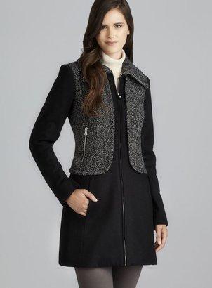 GUESS Twill Colorblock Zip Coat