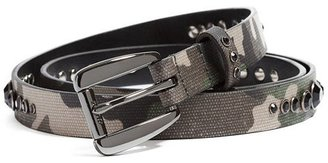 GUESS Camo Skinny Belt