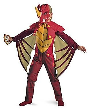 JCPenney Bakugan Dragonoid Deluxe Child Costume