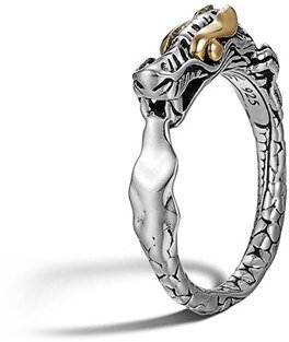 Women's John Hardy 'Legends' Slim Dragon Ring $395 thestylecure.com