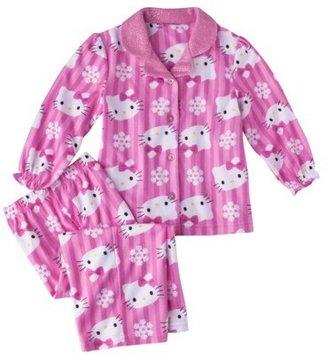 Hello Kitty Toddler Girls' 2-Piece Long-Sleeve Pajama Set