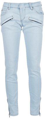 Balmain Pierre Zip detail jeans