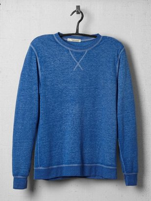 Vince Threads for Thought Burnout Crew Neck Sweatshirt