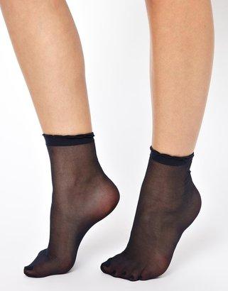 Asos Sheer Frill Ankle Socks