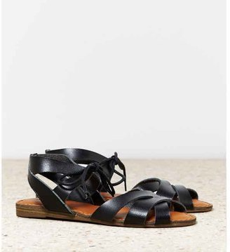 American Eagle AEO Tie Front Sandal