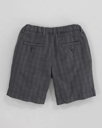 Dolce & Gabbana Checked Bermuda Shorts, Sizes 8-10