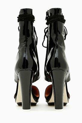 Nasty Gal Jeffrey Campbell Talulah Laced Bootie