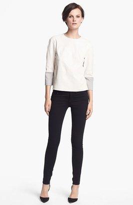 J Brand Ready-to-Wear 'Anya' Leather Shirt