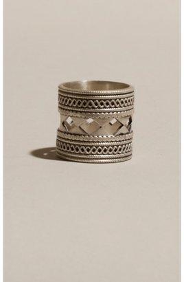 A Peace Treaty Asmat Silver Ring