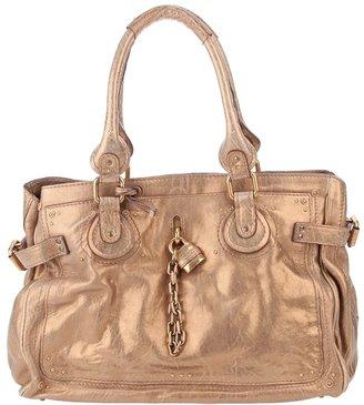 Chloé padlcok detail bag
