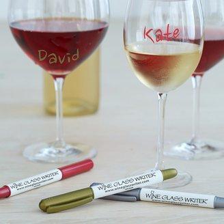 Williams-Sonoma Wine Glass Metallic Markers, Set of 3