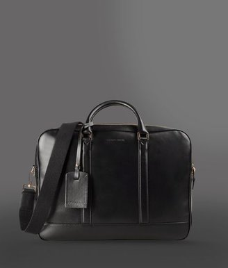 Emporio Armani Handbag In Calfskin With Compartments